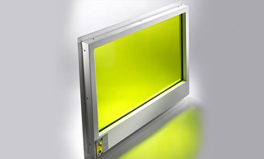 Laservision window
