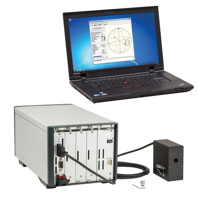 Thorlabs fiber test polarimetre